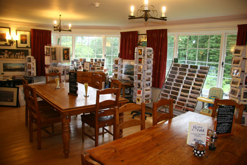Betty Fold Tea Room and Gallery at Hawkshead Cumbria