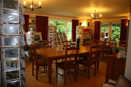 Betty Fold Tea Room and Gallery at Hawkshead Hill Nr Ambleside Cumbria