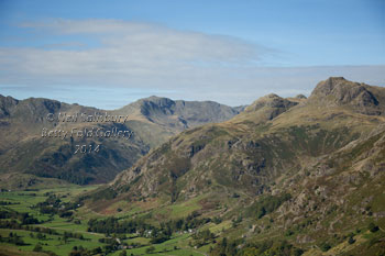 Bowfell Photography by Landscape Photographer Neil Salisbury Betty Fold Gallery